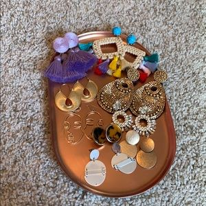 Statement earring bundle